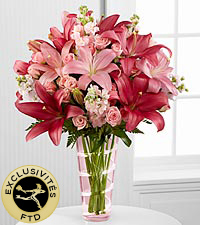 Le bouquet Loving Thoughts<sup>�</sup> de FTD<sup>�</sup> - VASE INCLUS