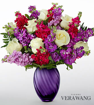 Le bouquet Spirited™ de FTD® par Vera Wang - VASE INCLUS