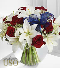 Le bouquet Independence™ de FTD® - VASE INCLUS